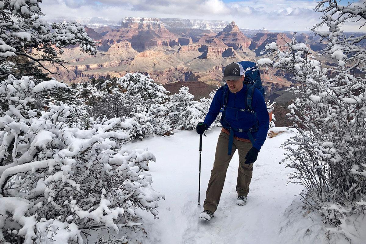 Bota de senderismo Salomon X Ultra 3 Mid GTX (nieve)