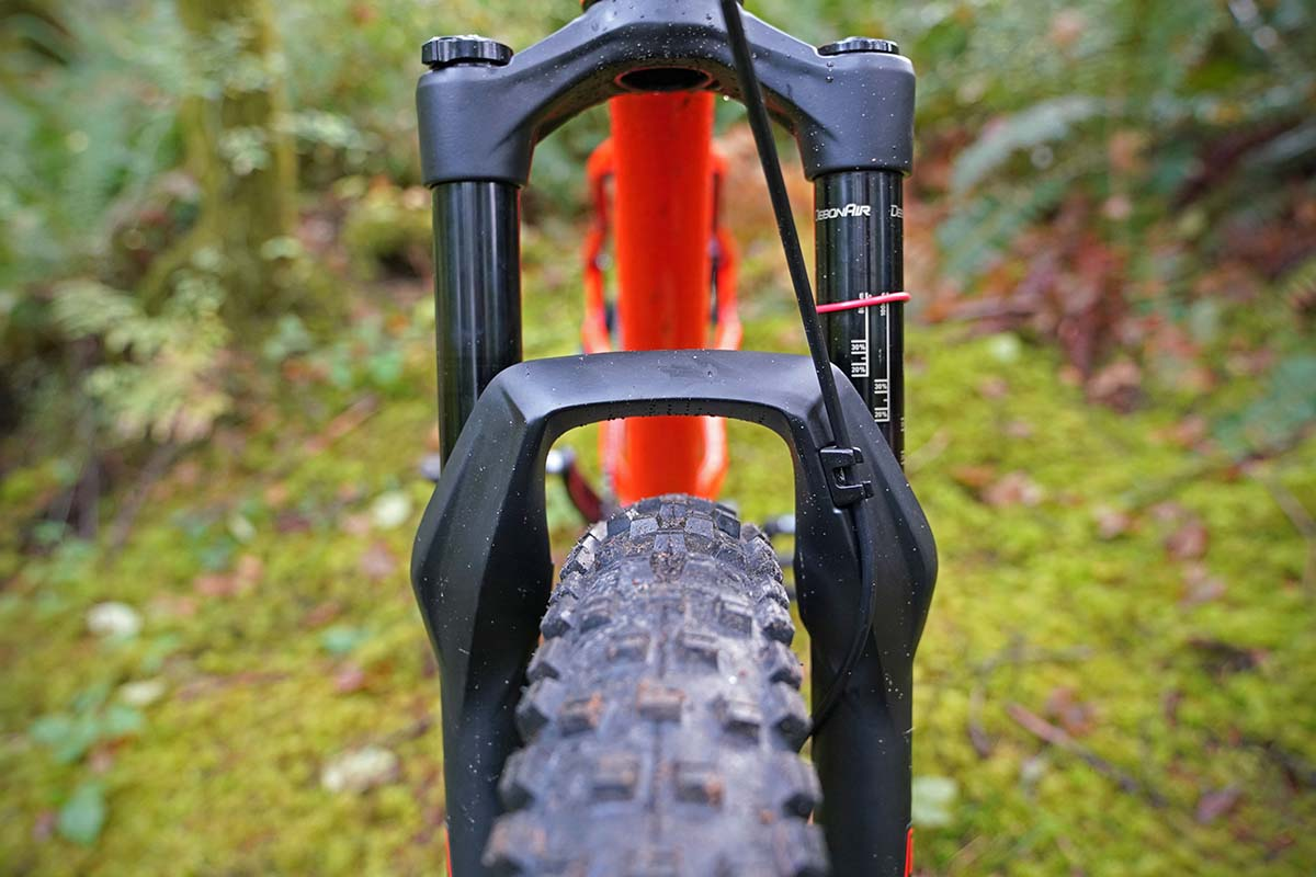 Salsa Timberjack (front wheel clearance)