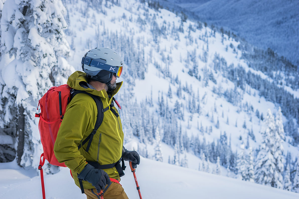 Smith Quantum MIPS helmet (in the backcountry)