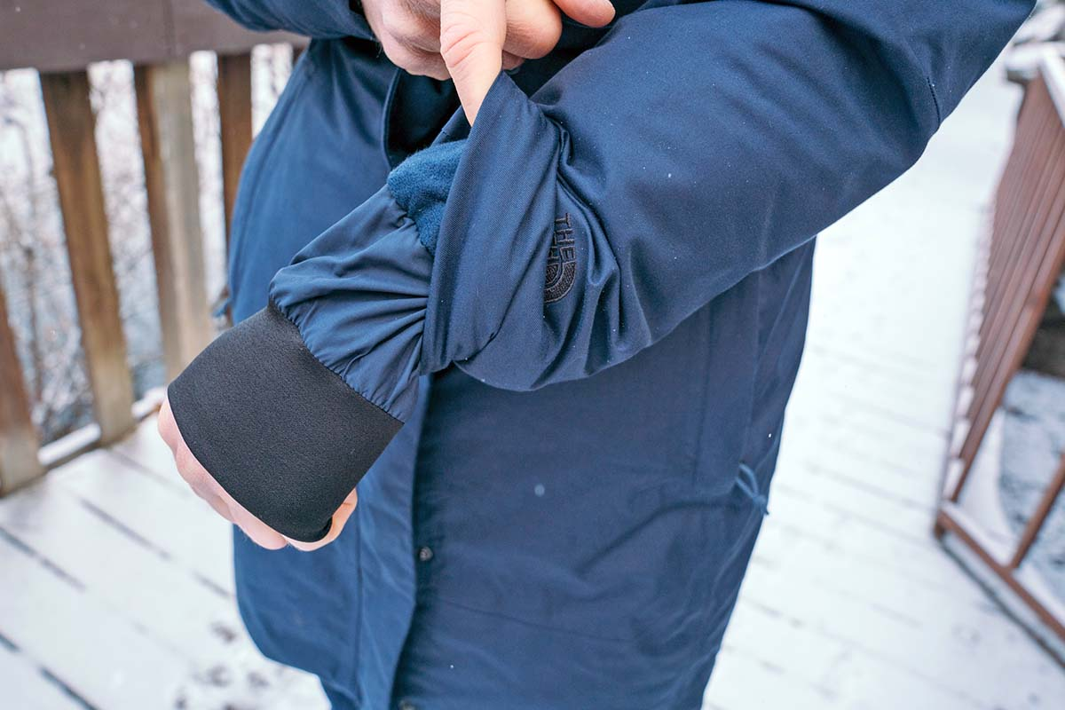 The North Face Arctic Parka II (cuff 2)