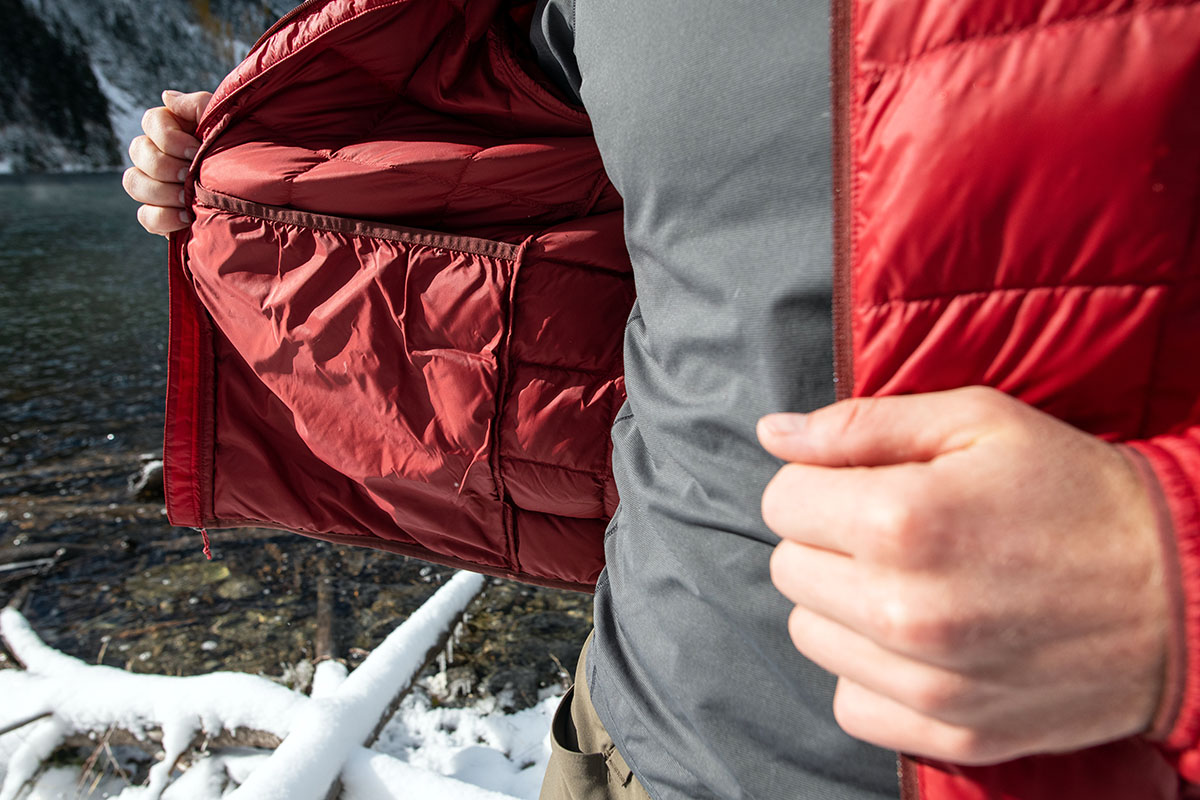 REI Co-op 650 Down Jacket 2.0 (interior)