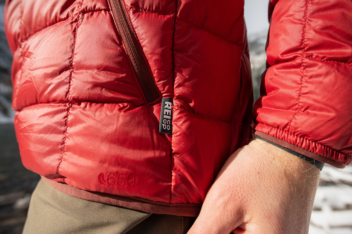REI Co-op 650 Down Jacket 2.0 (logo)