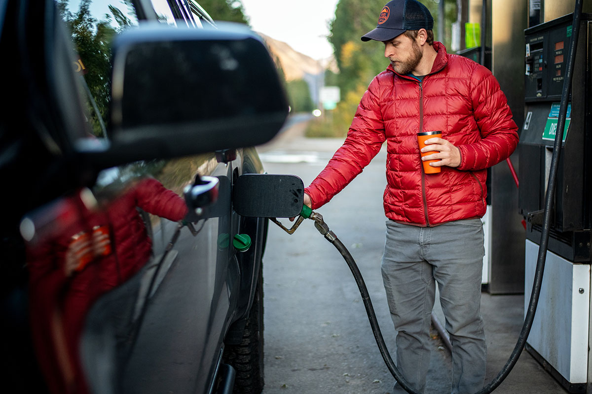 REI Co-op 650 Down Jacket 2.0 (pumping gas)