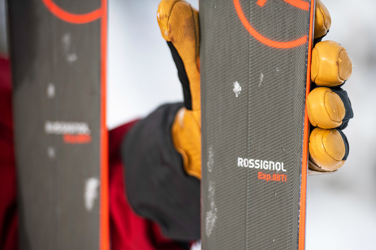 All-mountain skis (Rossignol Experience 88 Ti construction)