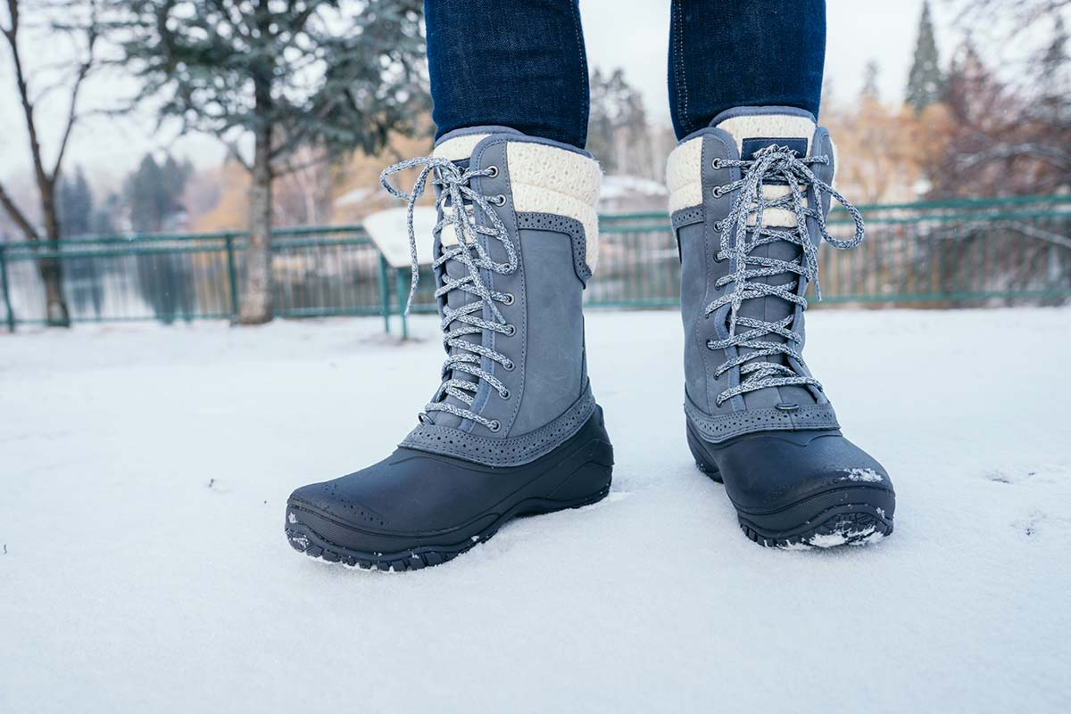 Winter boots (boot height)
