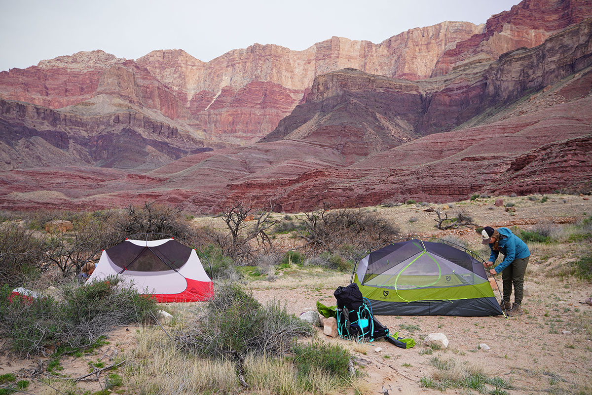 Backpacking tents (freestanding)