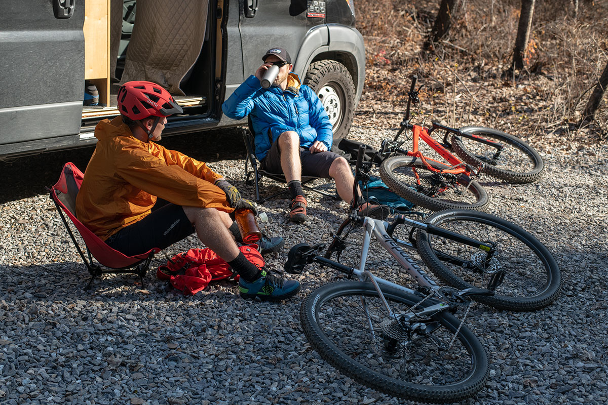 Mountain bikes (relaxing)