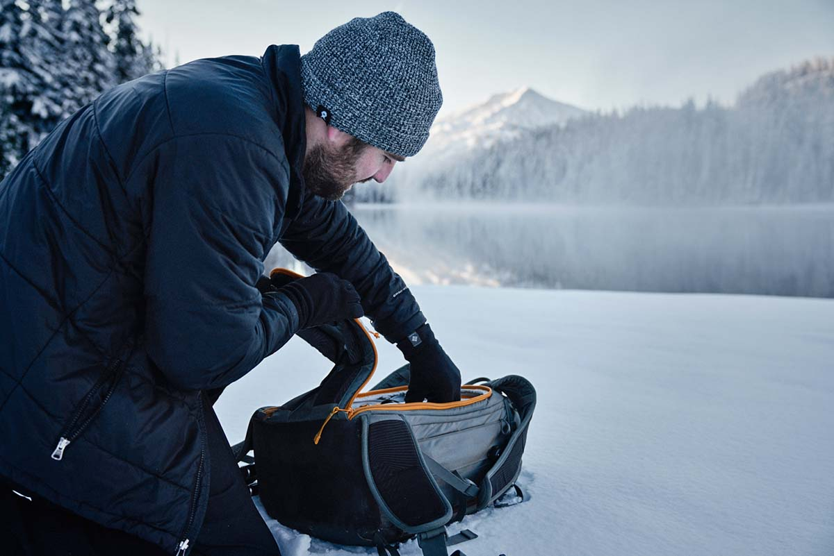 Tips Winter Photography (camera bag)