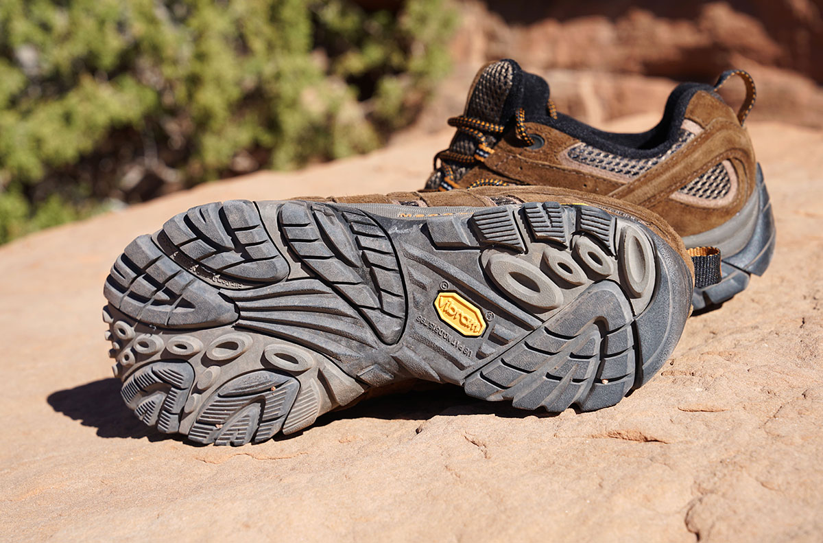 Trail Runners vs. Hiking Shoes (Merrell Moab 2 traction)