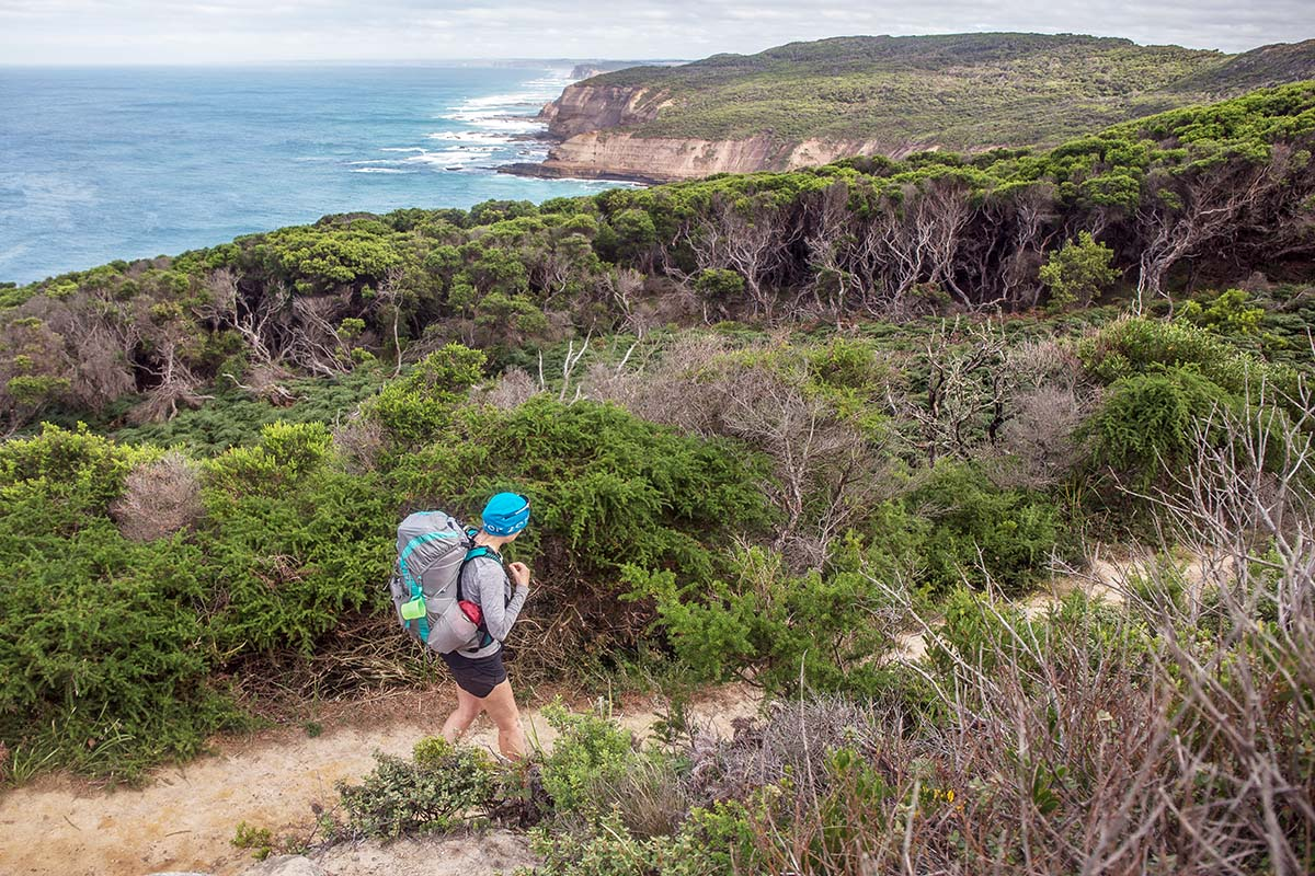 Great Ocean Walk (hiking along bluff)