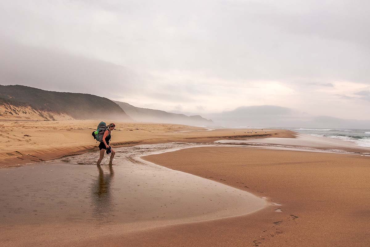 Great Ocean Walk (hiking on sandy beach)