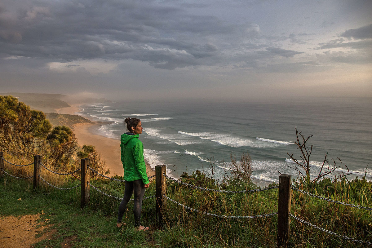 Great Ocean Walk (overlooking coastline at sunset)