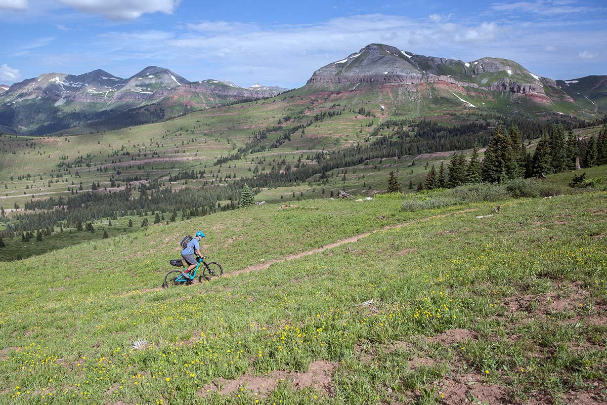 Bikepacking in Colorado's San Juan Mountains (landscape)