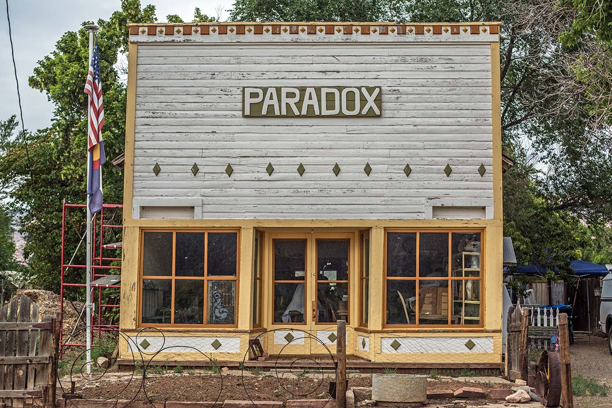 Old store in Paradox Colorado