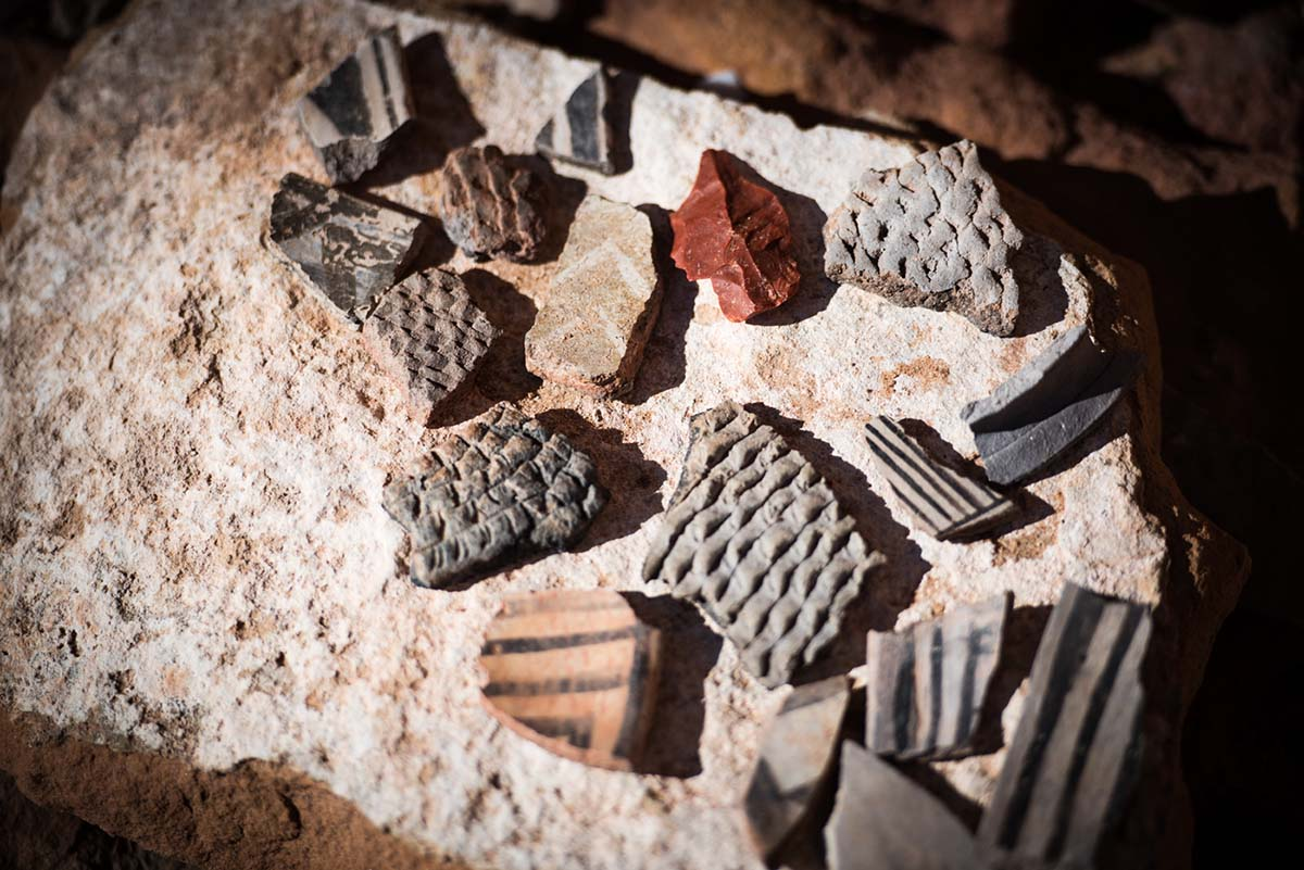 salt creek canyon (pot sherds)