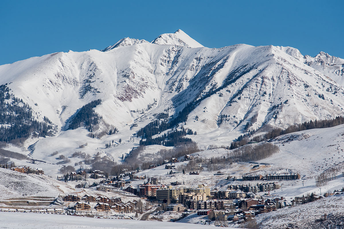 Crested Butte (mountain view)
