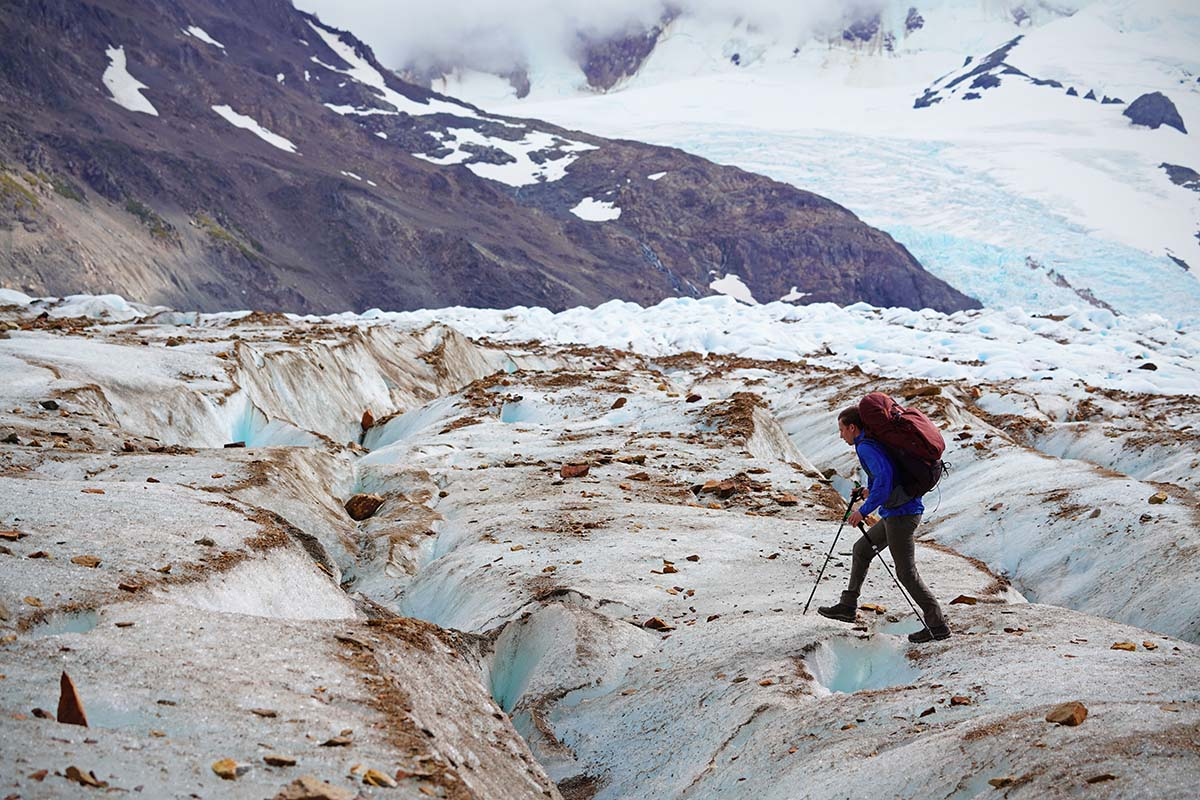 Hiking Huemul Circuit (glacier)