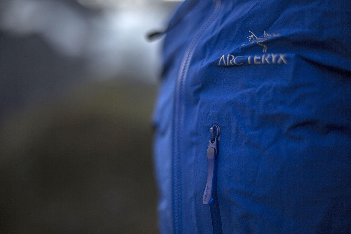 Arc'teryx Alpha FL jacket (chest pocket zipper)