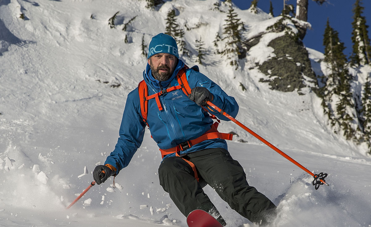 Arc'teryx Alpha SV (downhill skiing)