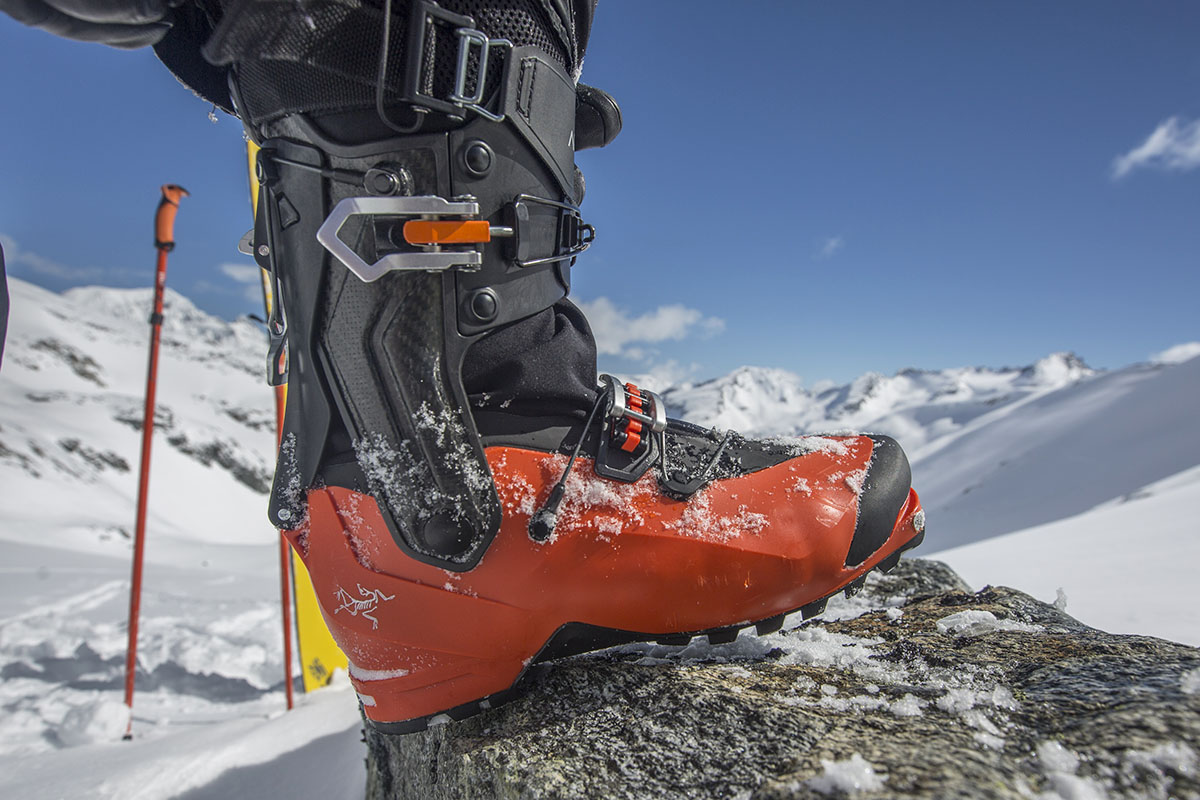 Arc'teryx Procline Carbon Support (boot close-up)