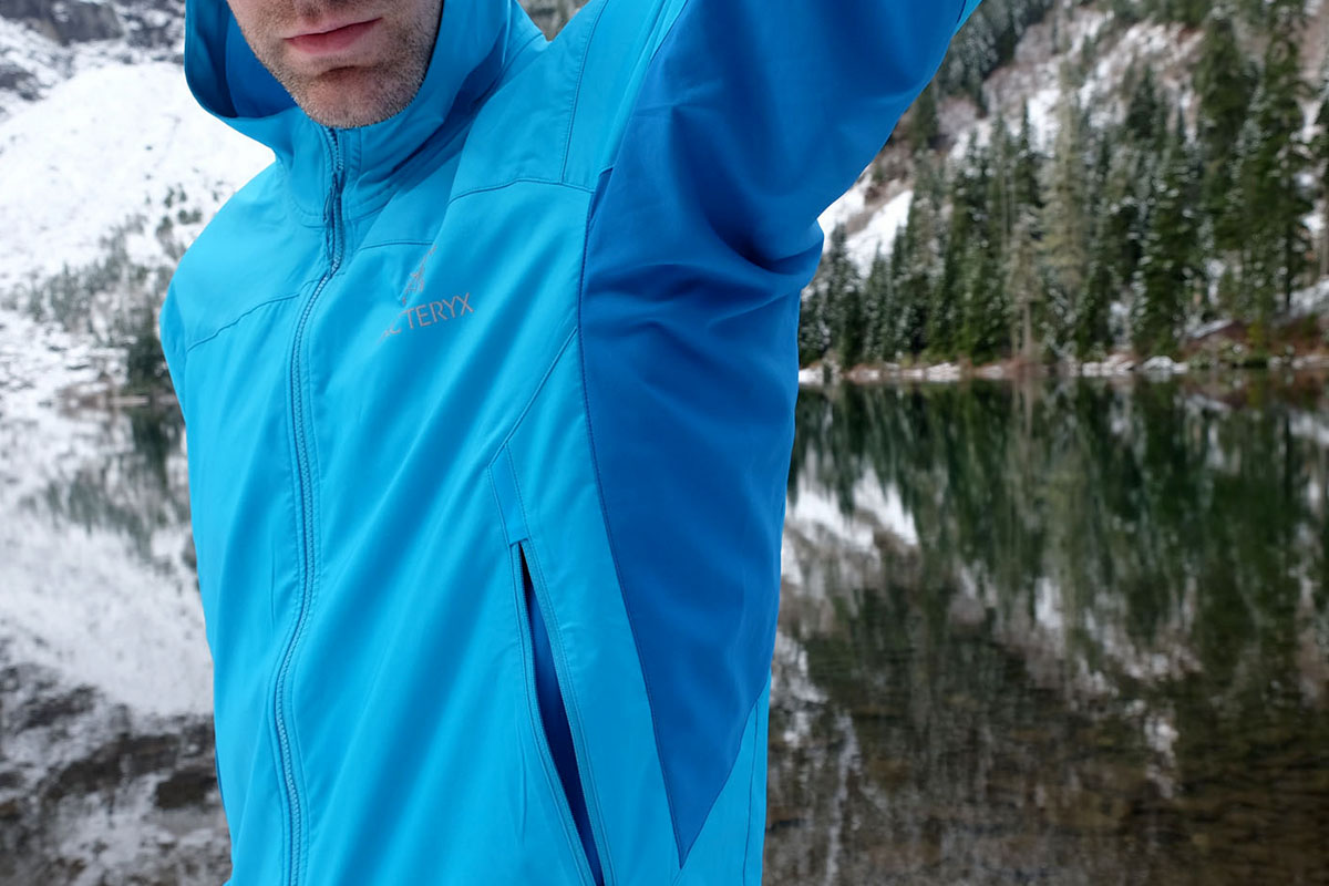 Arc'teryx Tenquille side panels