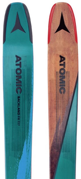 Atomic Backland FR 117 backcountry skis