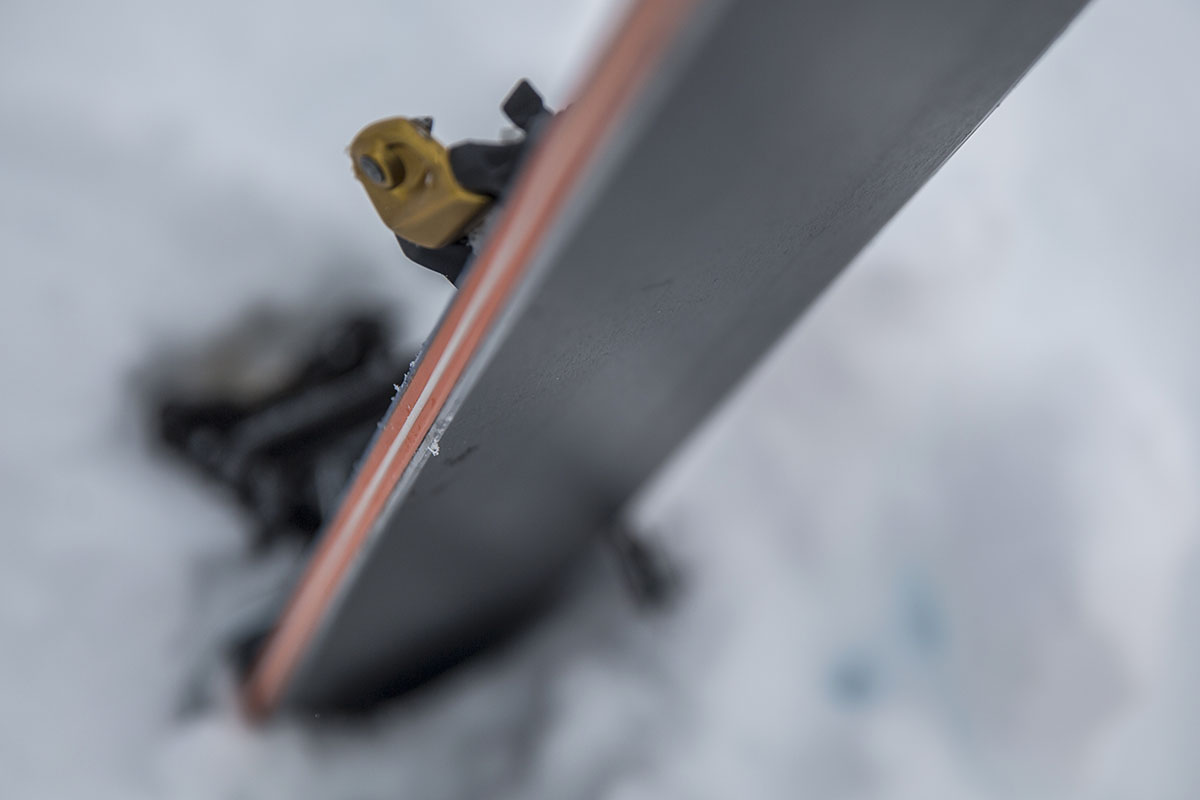 Backcountry Ski (core material)
