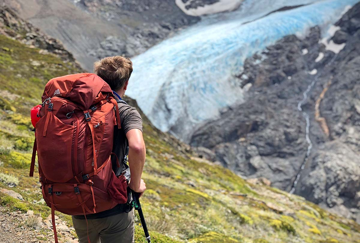 Backpacking packs (glacier)