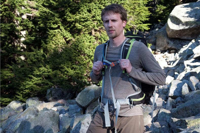 Baselayer for hiking
