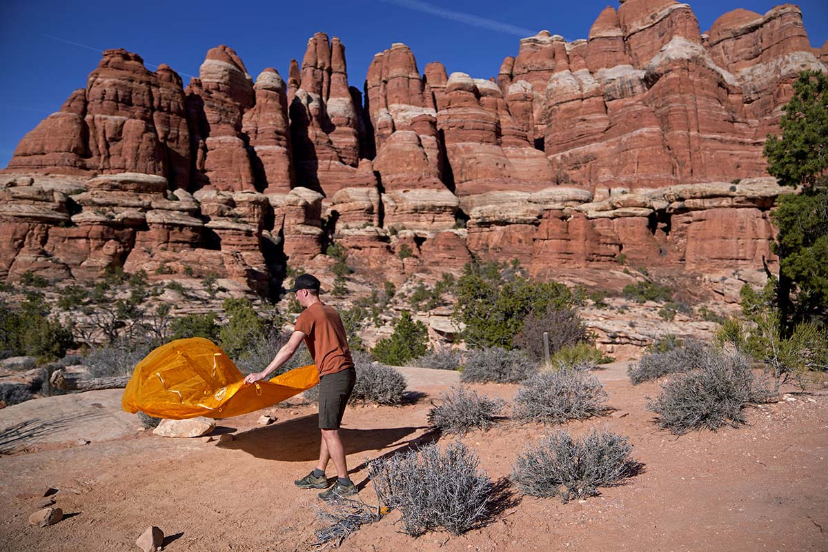 Big Agnes Tiger Wall (set-up)