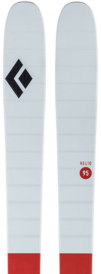 Black Diamond Helio 95 Carbon skis 2018