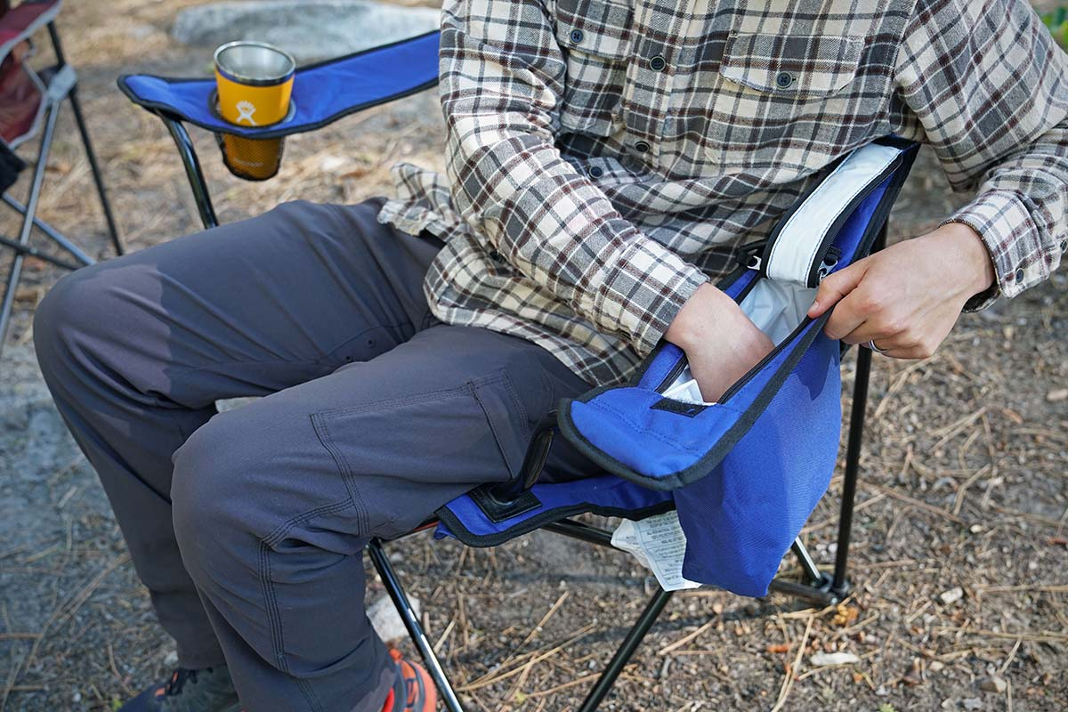 Camping chair (storage)