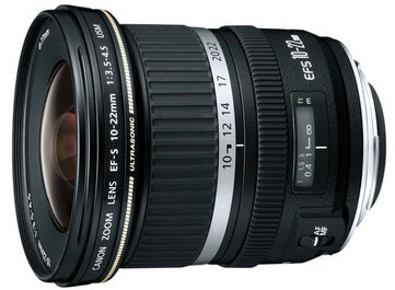 Canon 10-22mm EF-S lens
