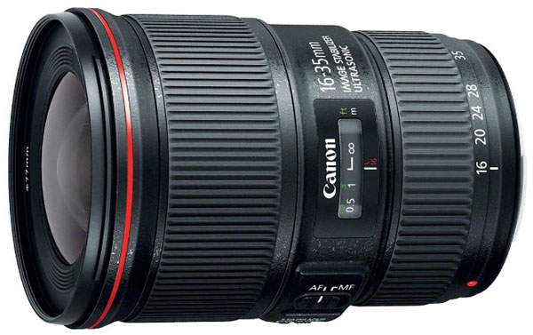 Canon 16-35mm f4 lens