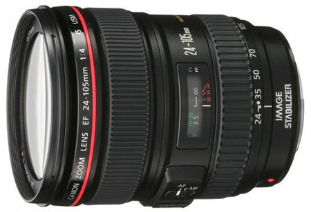 Canon 24-105mm f4 EF lens