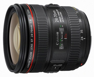 Canon 24-70mm f4 lens