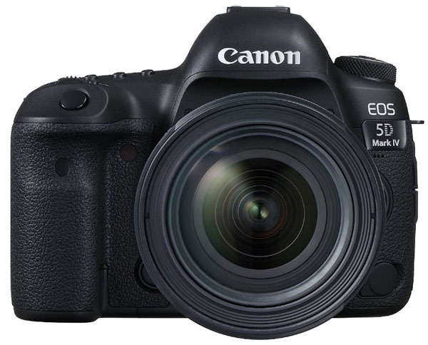 Canon 5D Mark IV DSLR camera