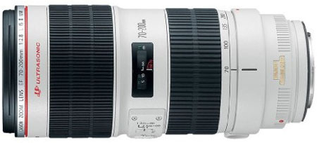 Canon 70-200mm f2.8 lens
