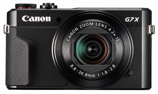 Canon G7 X Mark II camera