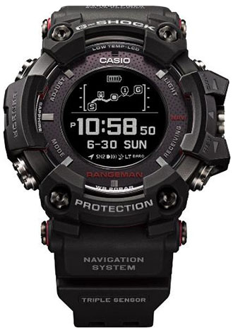 Casio G-Shock Rangeman GPR-B1000 watch