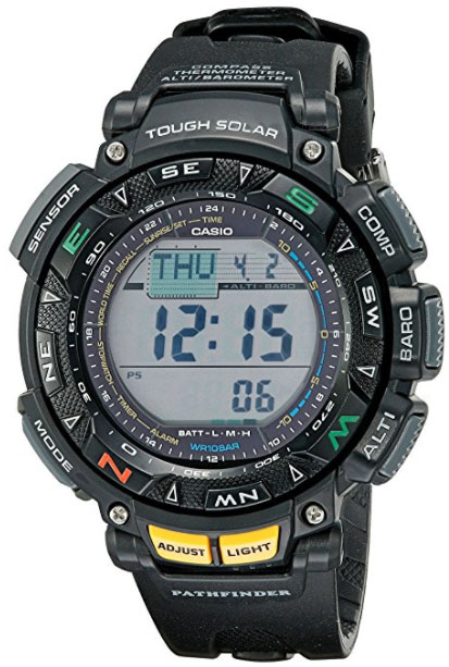 Casio Pathfinder PAG240-1 (2017) ABC watch