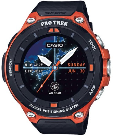 Casio Pro Trek WSD-F20 ABC watch