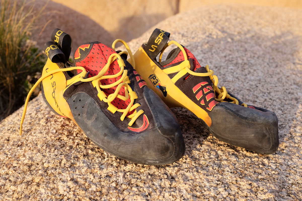Climbing Shoes toe rubber