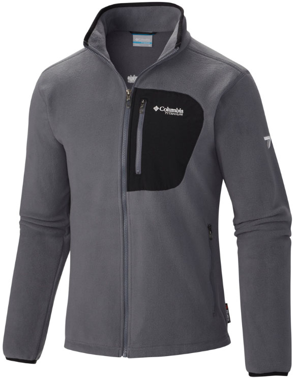 c18762603322 Columbia Titan Pass 2.0 fleece jacket