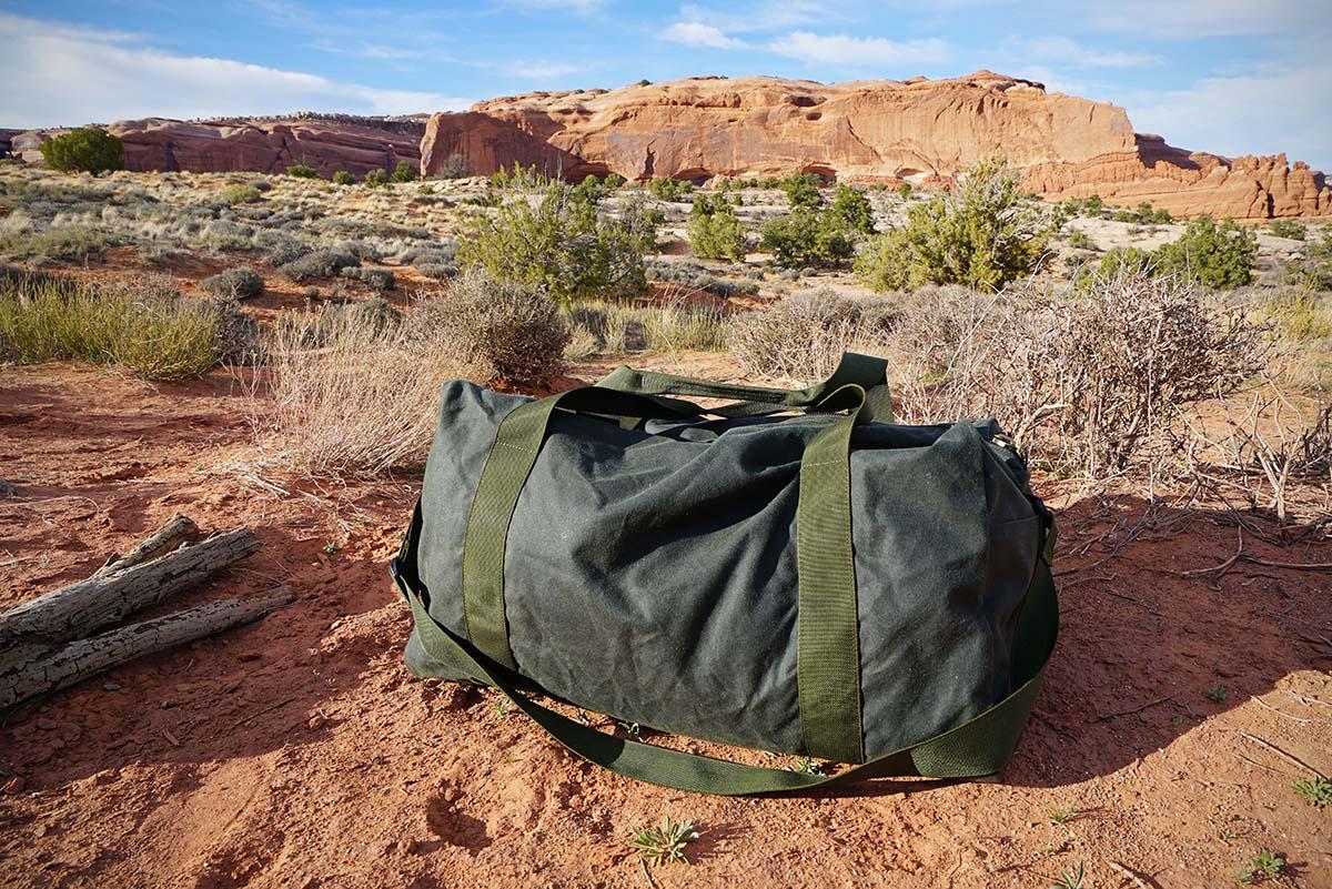 f22fbda6b585 Duffel bags (Filson tin cloth)