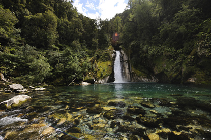 Fiordland National Park - Giant Gate Falls