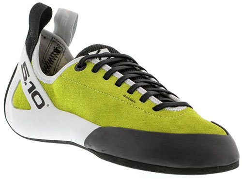 Five Ten Gambit Lace climbing shoes