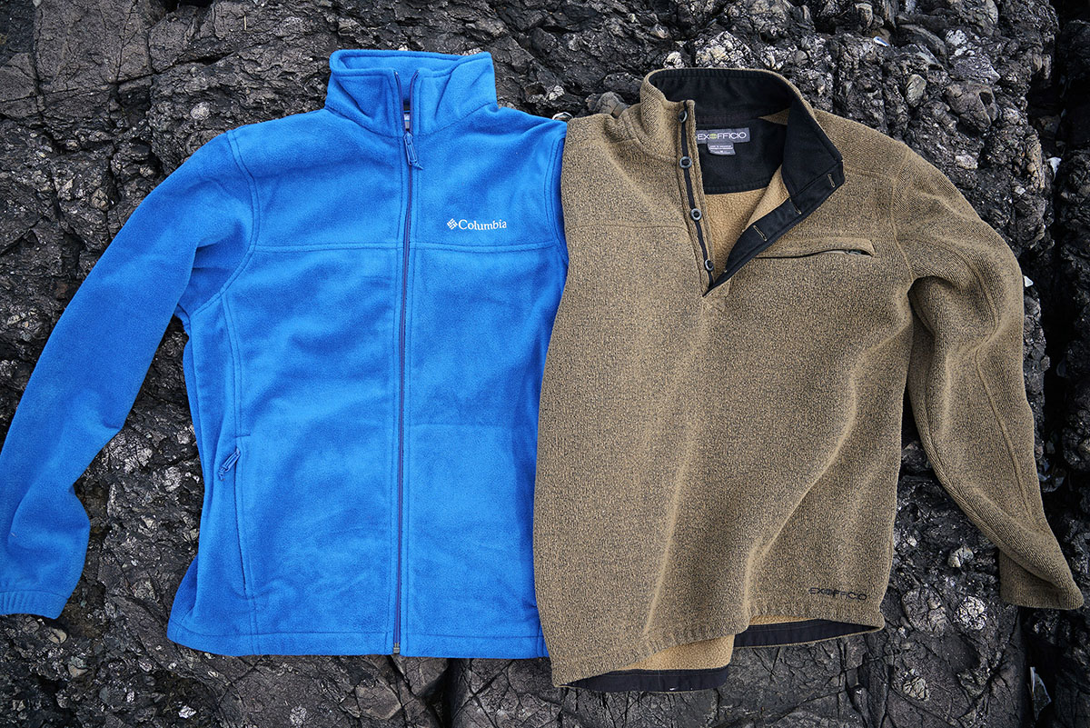 Fleece jackets (full-zip and pullover)