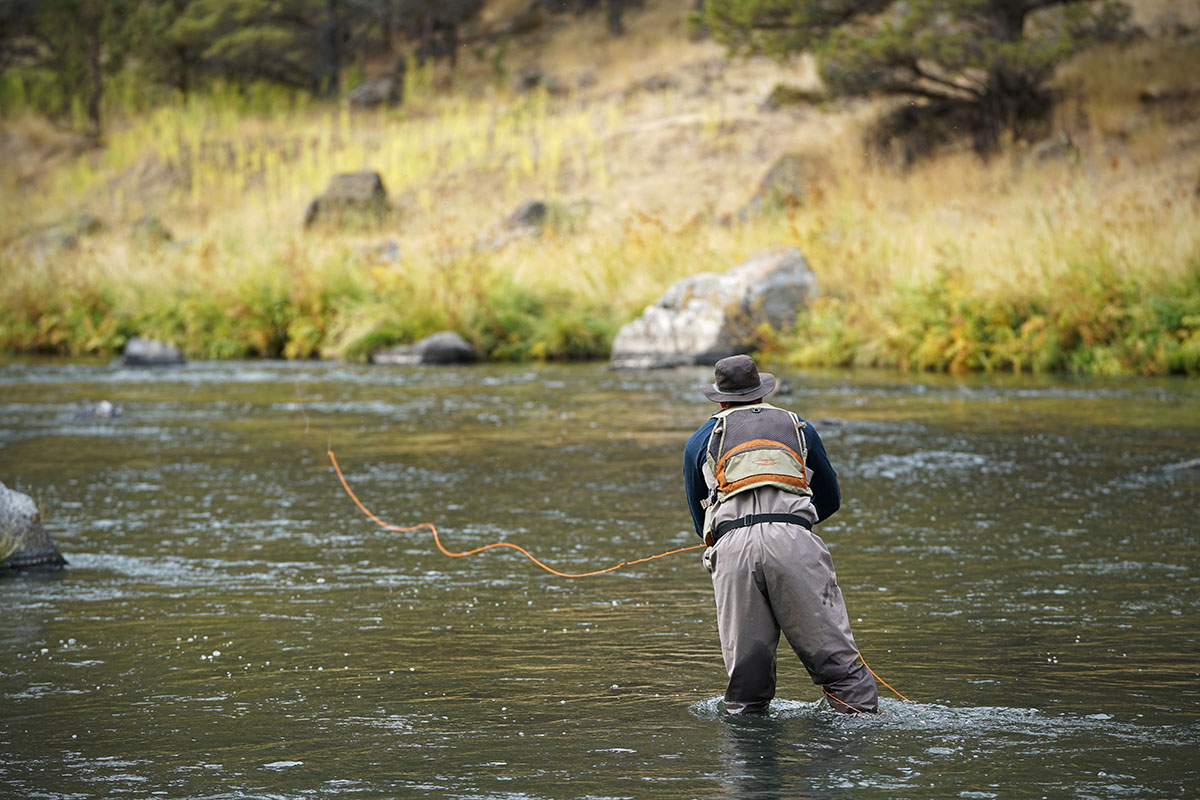 Fly fishing (Crooked River)