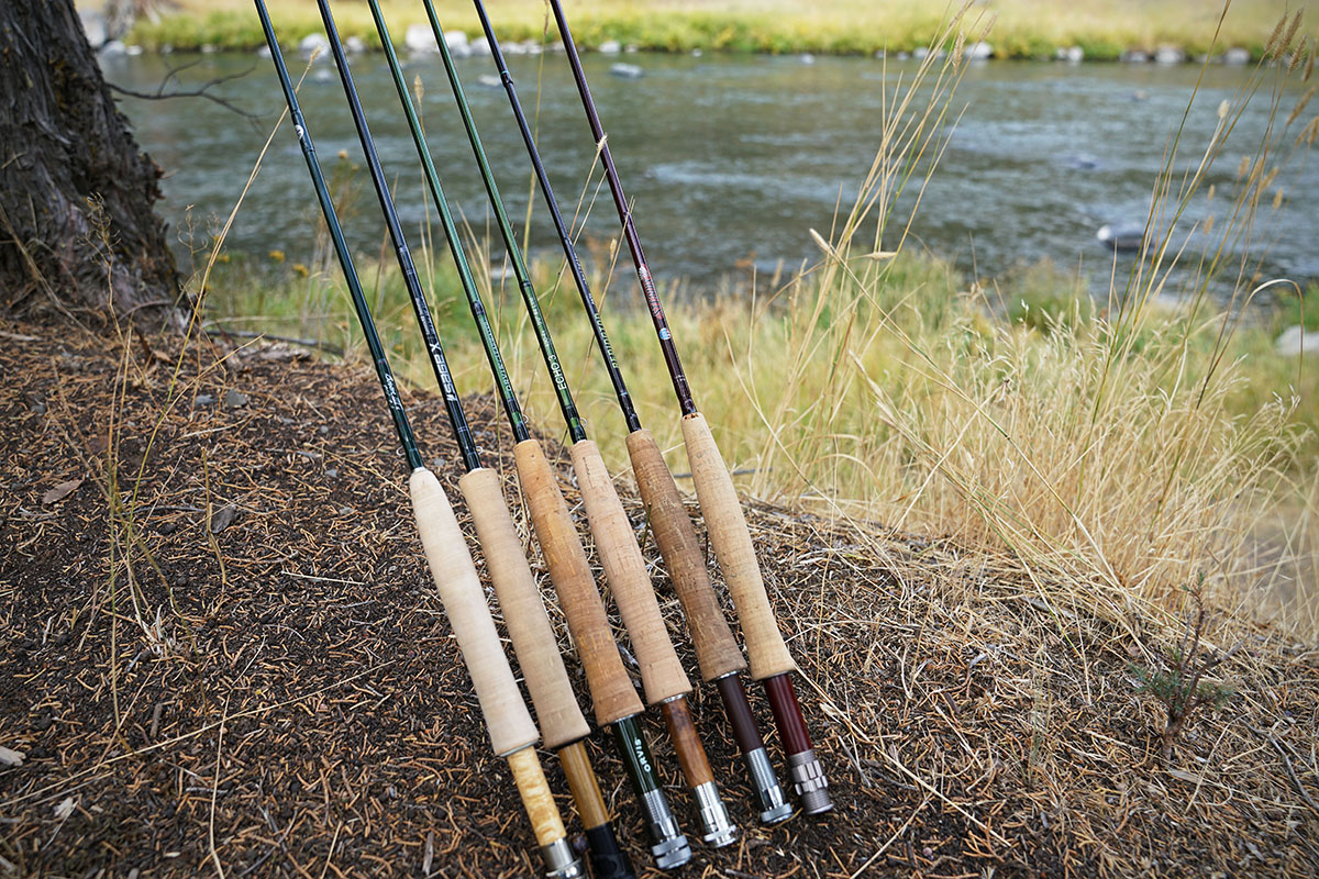 Fly rod lineup
